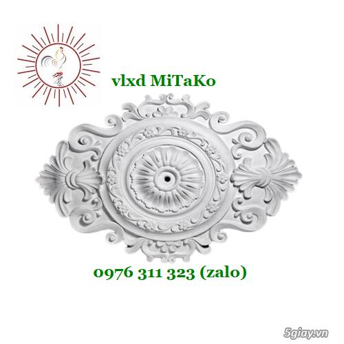 Bông trần hoa văn trang trí mặt tiền nhà cổ điển giá rẻ, chất lượng - 2