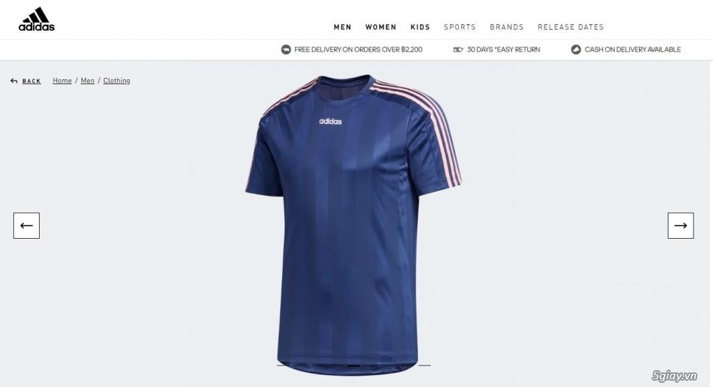 HN-TQ bán áo thể thao Adidas chính hãng new 100% full tem tag - 4