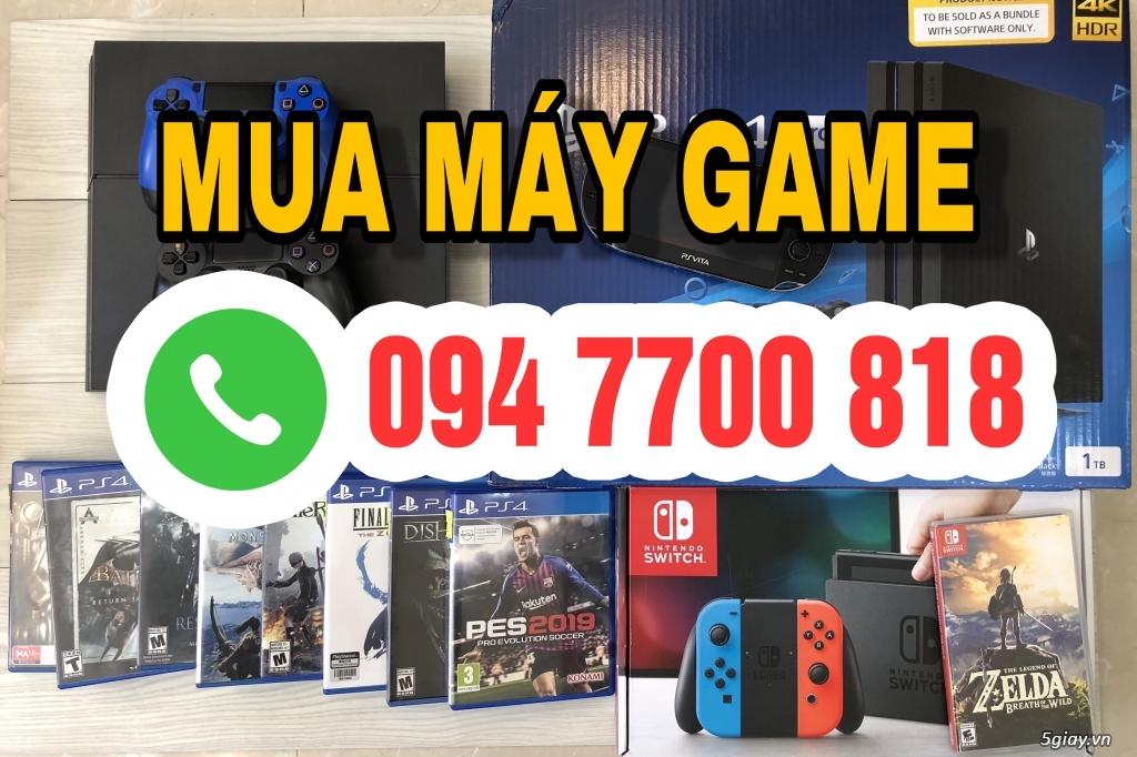 Thu Mua máy game PS4,PS3,PSP,PSVita,Xbox... 0947700818