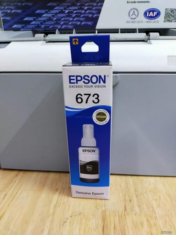 Mực in epson 673 chính hãng - 1