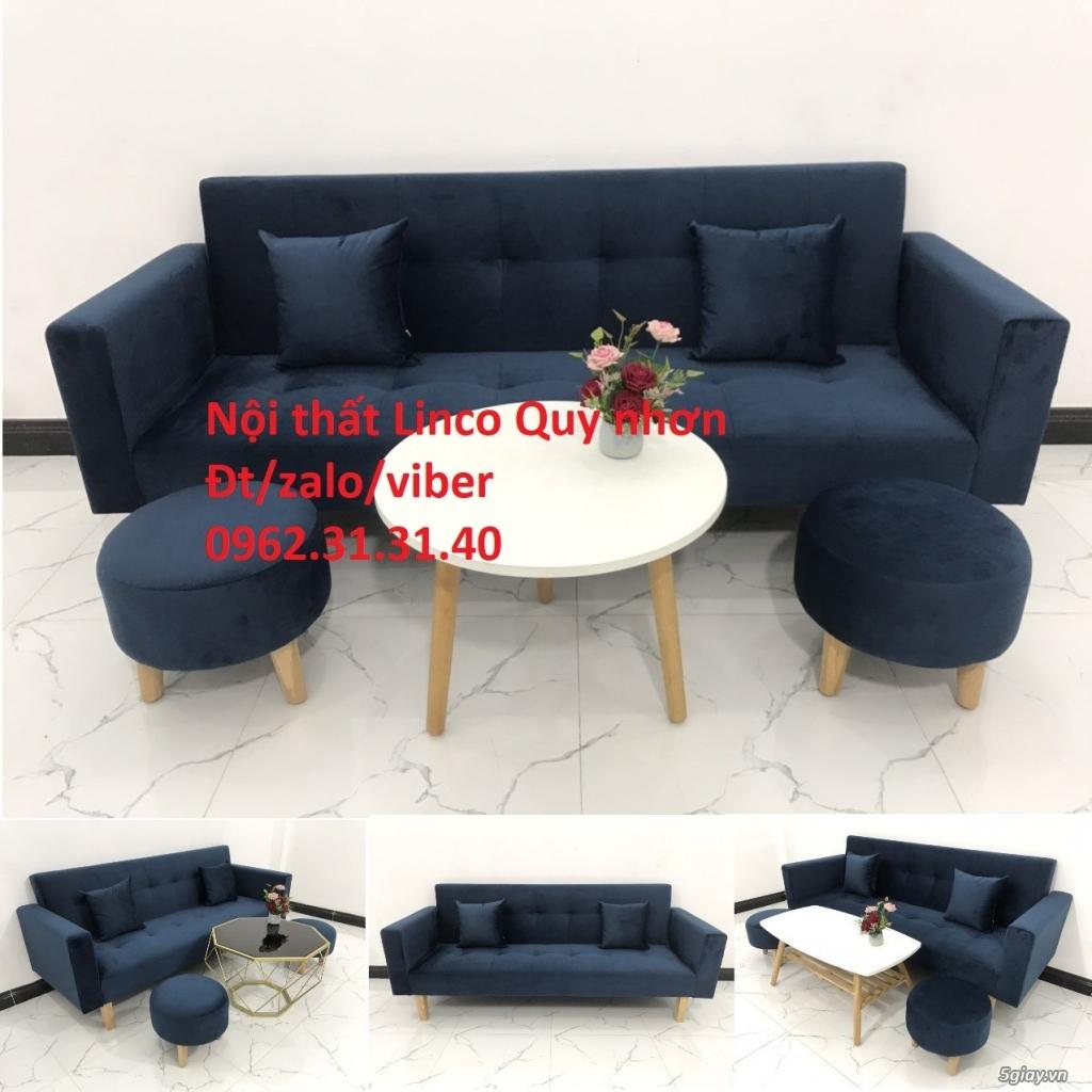 Bộ ghế sofa beb tay vịn phòng khách - 1