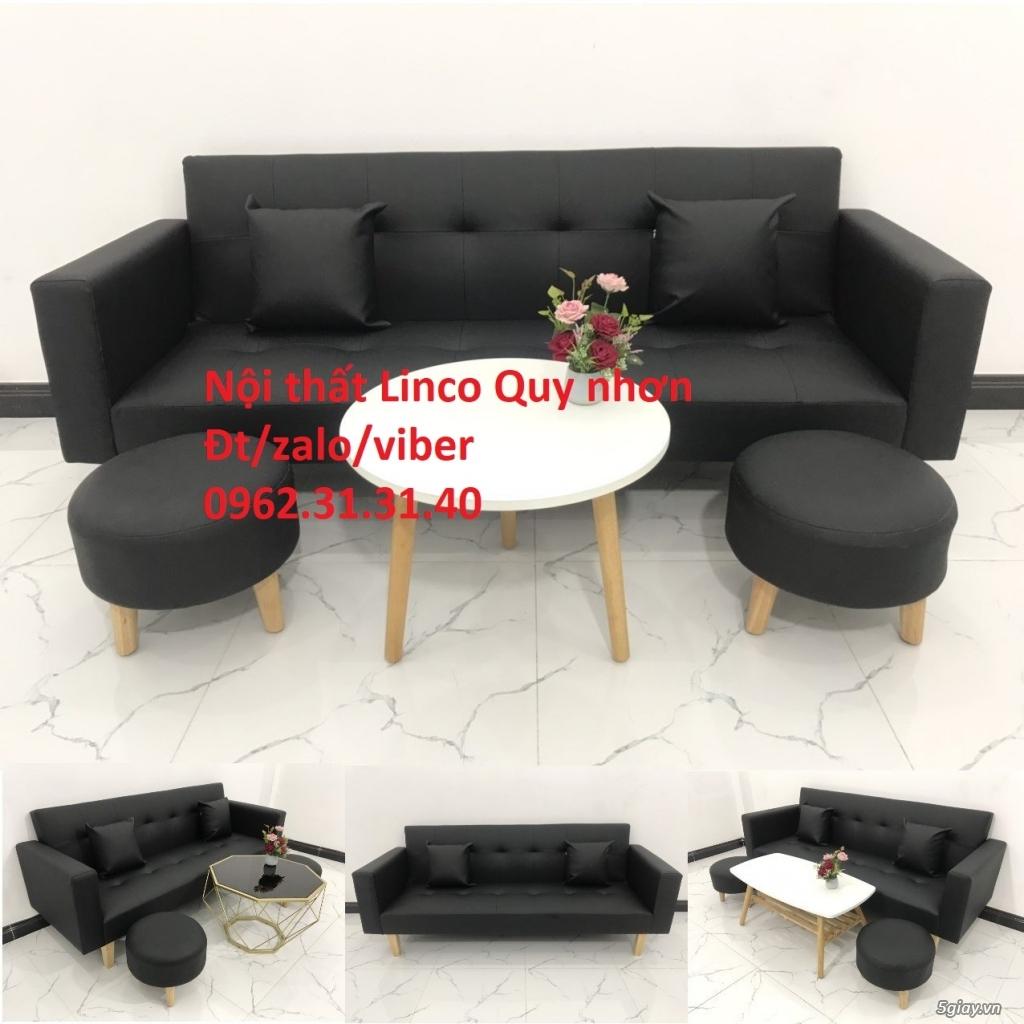 Bộ ghế sofa beb tay vịn phòng khách - 4