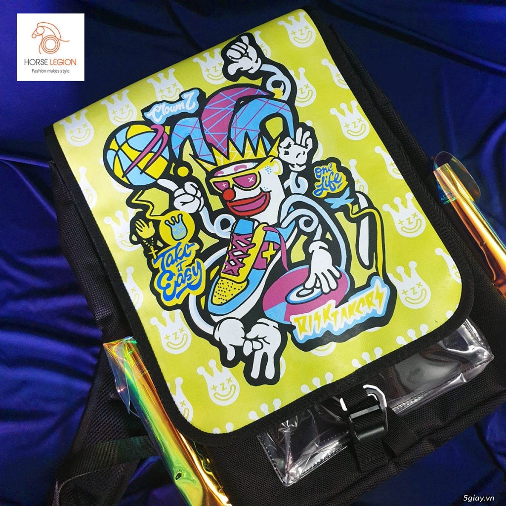 balo HL custom hề clownZ - 2