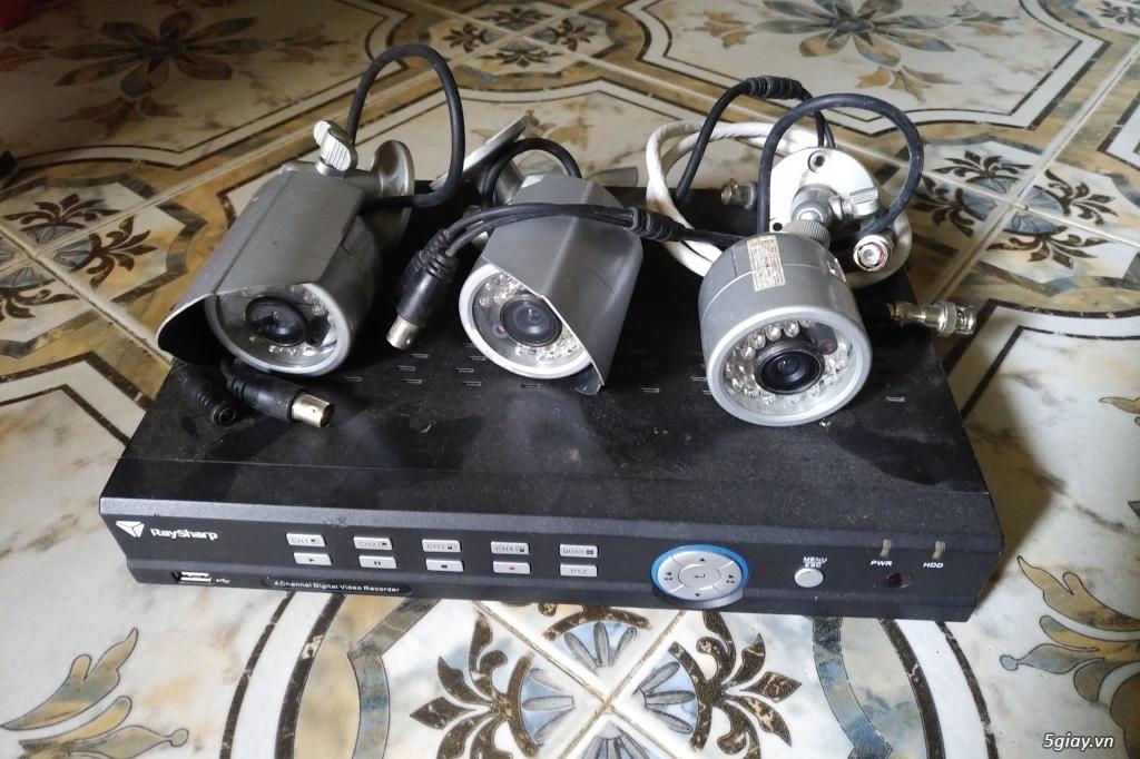 Thanh lý giá ve chai bộ camera quan sát - 2