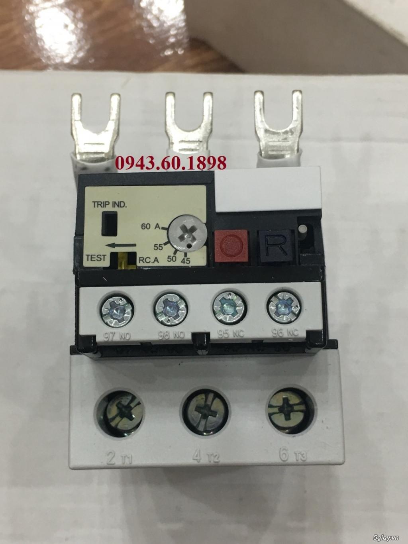 RƠ LE NHIỆT TECO RHU-80/60K3, xuất xứ TeCo - Đài Loan