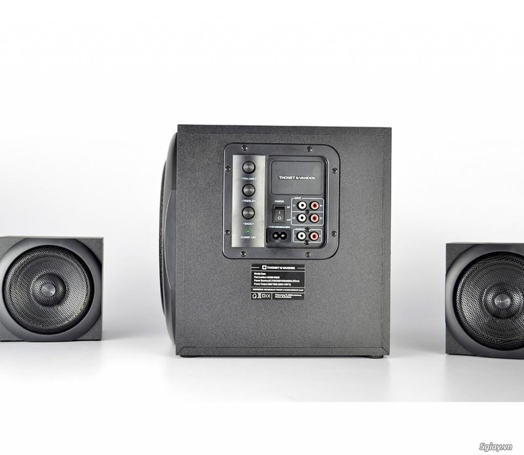 Loa & amply Bluetooth Thonet Vander Dass của Đức