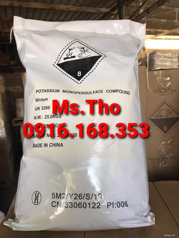 WIRKON Potassium monopersulphate DIỆT KHUẨN AN TOÀN PHỔ RỘNG HIỆU QUẢ