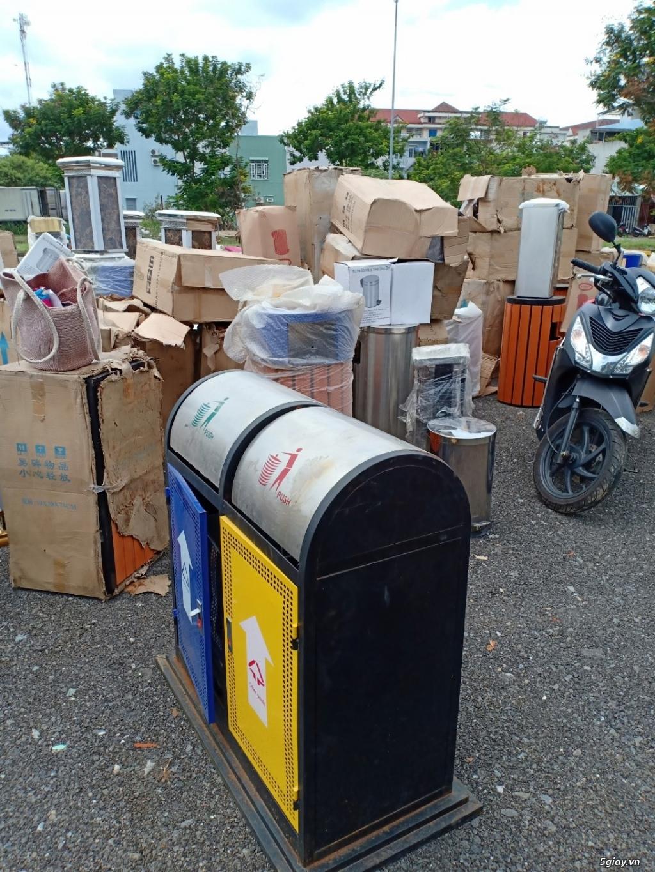 Thùng rác inox, thùng rác các loại giá rẻ tại Đà Nẵng 0905681595
