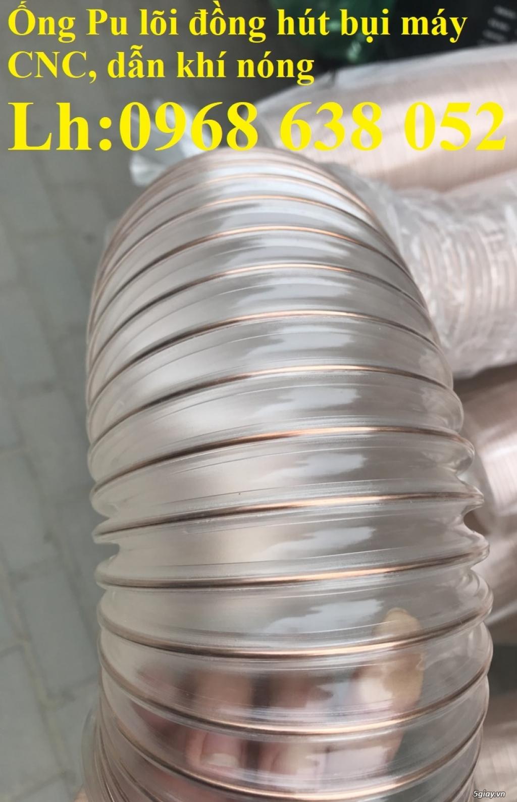 Ống hút bụi nhựa lõi đồng dẫn cám, bột, thu gom bụi giấy