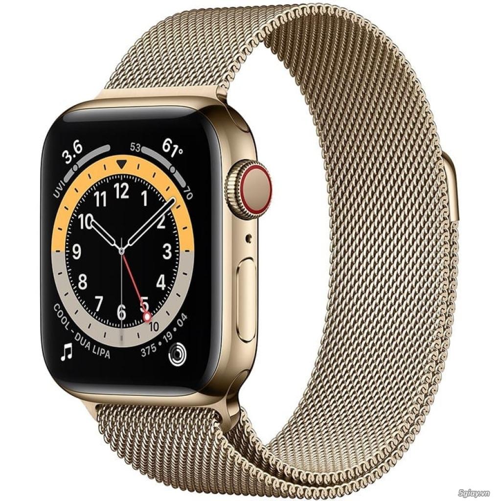 Đồng hồ Apple watch thép vàng series 6 chính hãng Việt Nam - 1