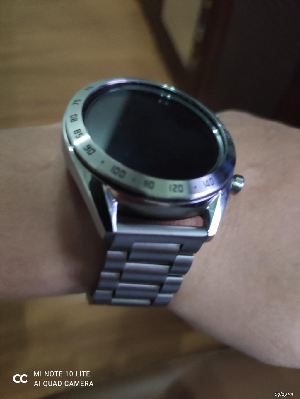 Huawei Watch GT 46mm Bản Classic dây thép fullbox- Samsung Fit trắng - 1