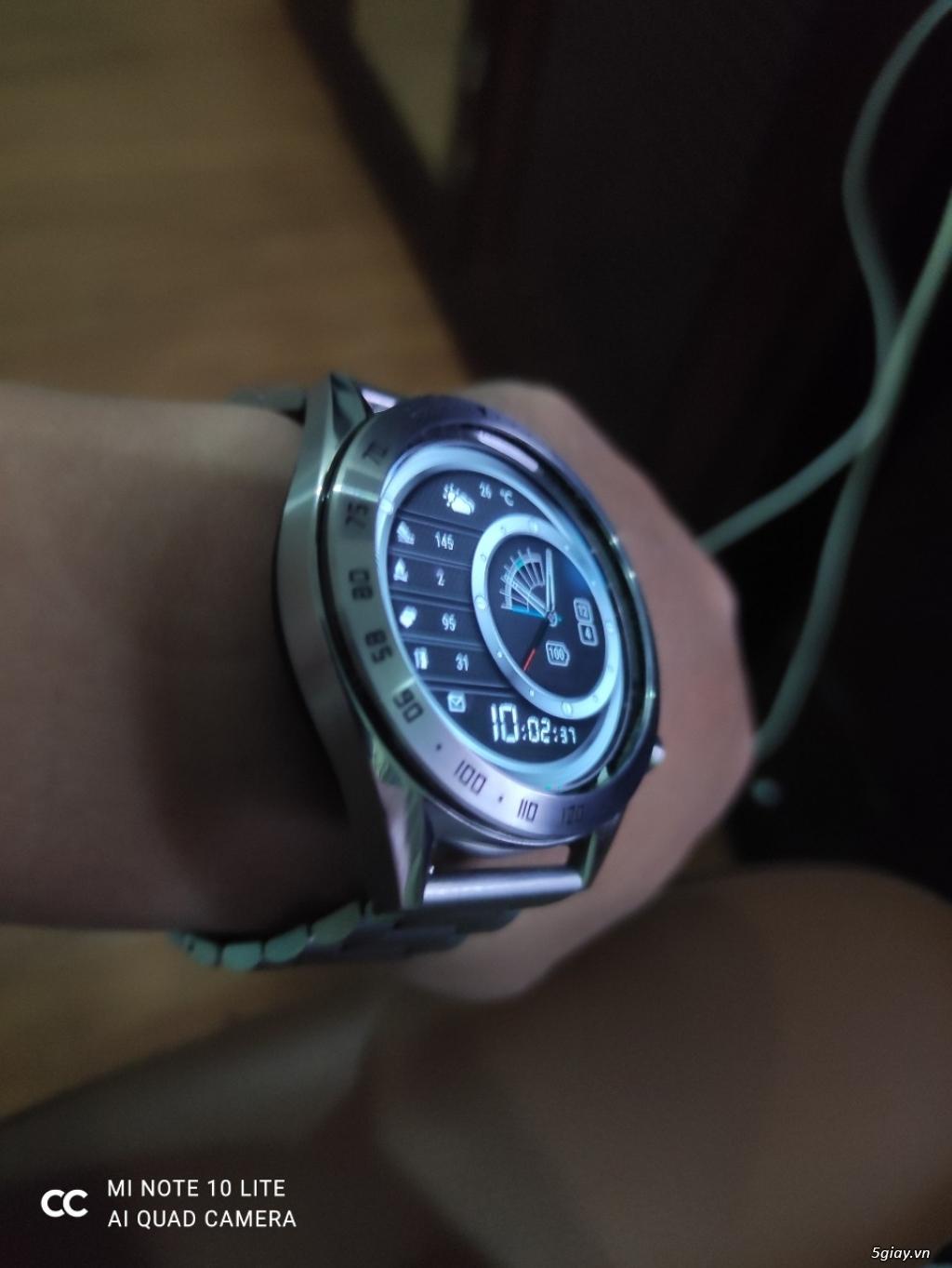 Huawei Watch GT 46mm Bản Classic dây thép fullbox- Samsung Fit trắng - 2