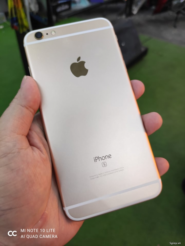 ***Iphone 6S Plus bản 128Gb màu Gold, quốc tế Nhật. like new 99% keng! - 1