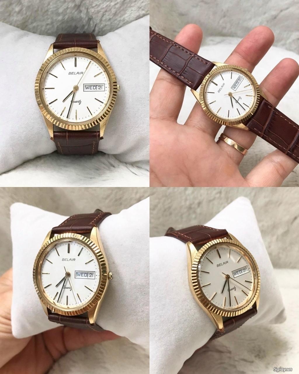 Kho đồng hồ xách tay chính hãng secondhand update liên tục - 22