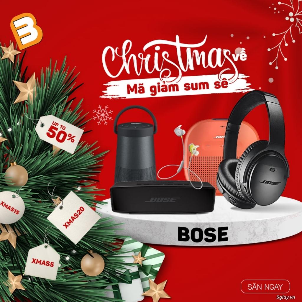 Ưu đãi 10% nhiều mẫu loa bluetooth Bose nhân dịp Giáng Sinh