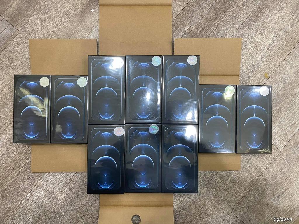 IPhone 12 promax hàng VN chính hãng xanh