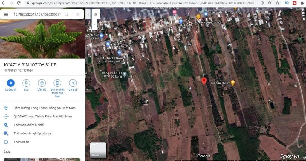 1000m2 giá 1,85 tỉ đất Cẩm Đường, Long Thành, Đồng Nai. - 1