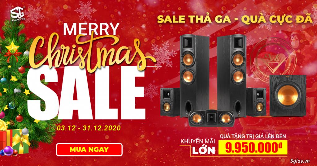 Sale thả ga - Quà cực đã khi mua dàn âm thanh tại SAIGON HD