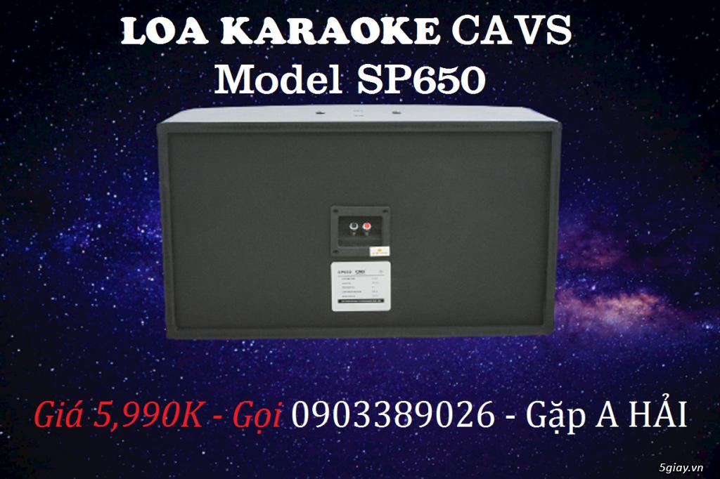Loa Karaoke CAVS SP650 sản phẩm đón năm 2021 đến từ USA - 1