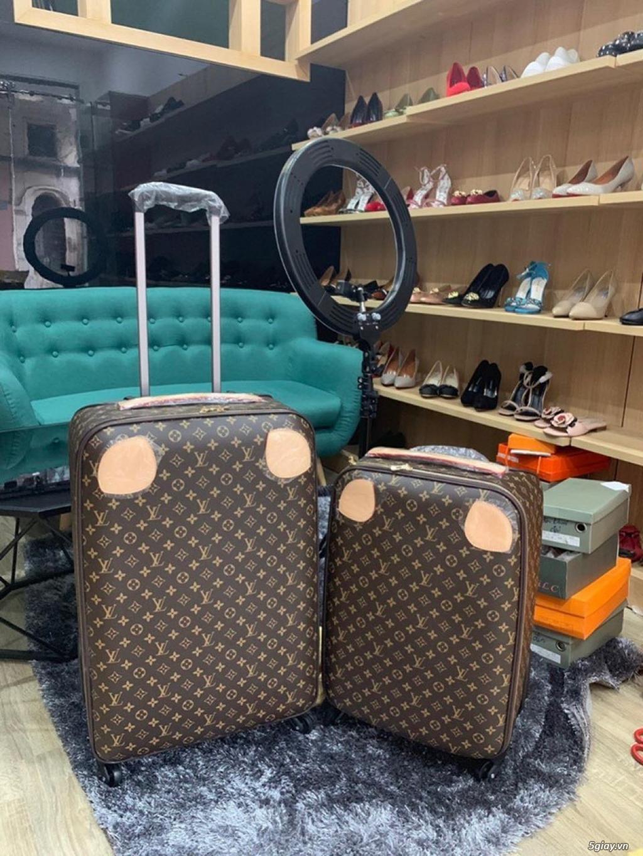 vali kéo da lv chất siêu đẹp, ship cod toàn quốc - 4
