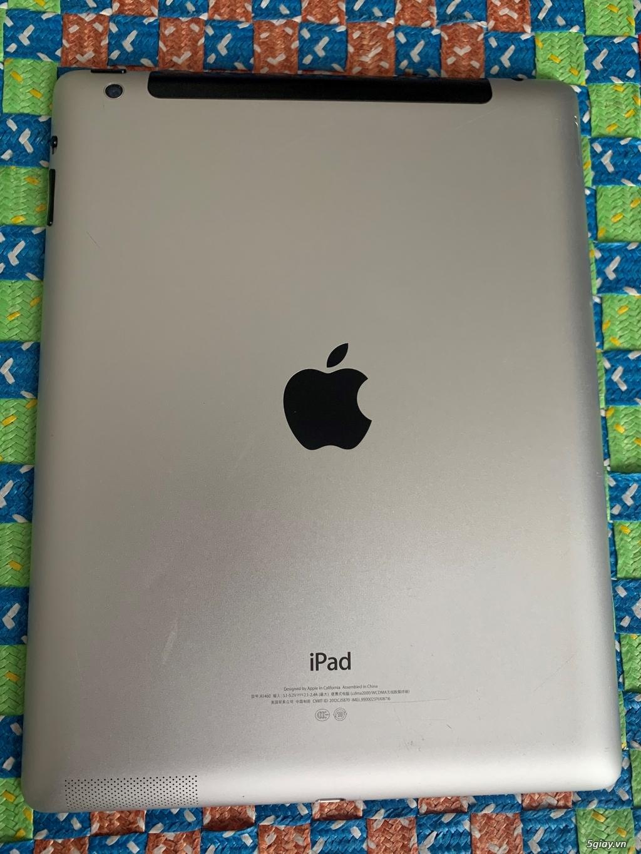 Ipad 4 64GB Wifi , đen, không lỗi lầm, Pin trâu