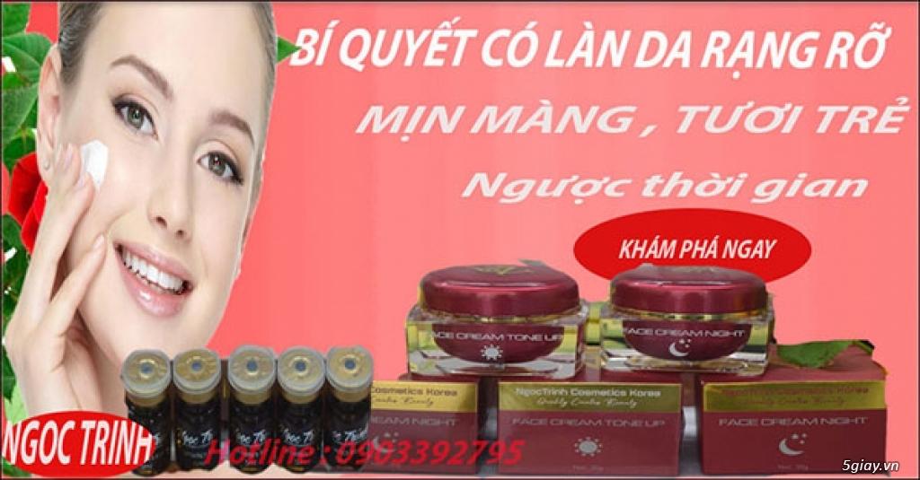 Kem Trị Nám Tàn Nhang / Serum trị nám / Kem trị nám Hàn Quốc Thuốc / Trị Nám Beauty Ngoc Trinh - 40