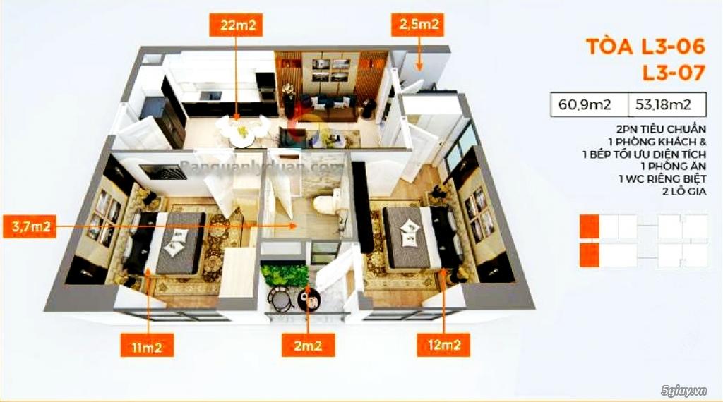 Bán độc quyền căn góc 53.18m2 rẻ - duy nhất tại dự án le grand jardin