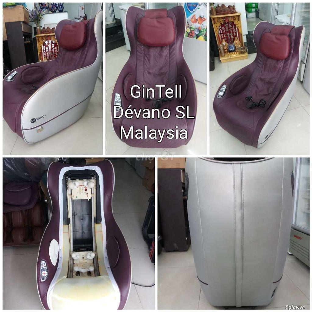 Cty thanh lý cuối năm ghế Massage Gintel Malaysia Dévano SL.