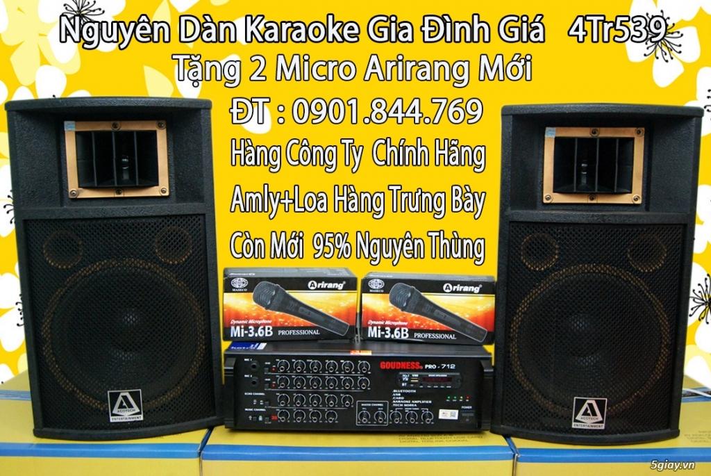 Dàn karaoke gia đình giá bình dân. - 17