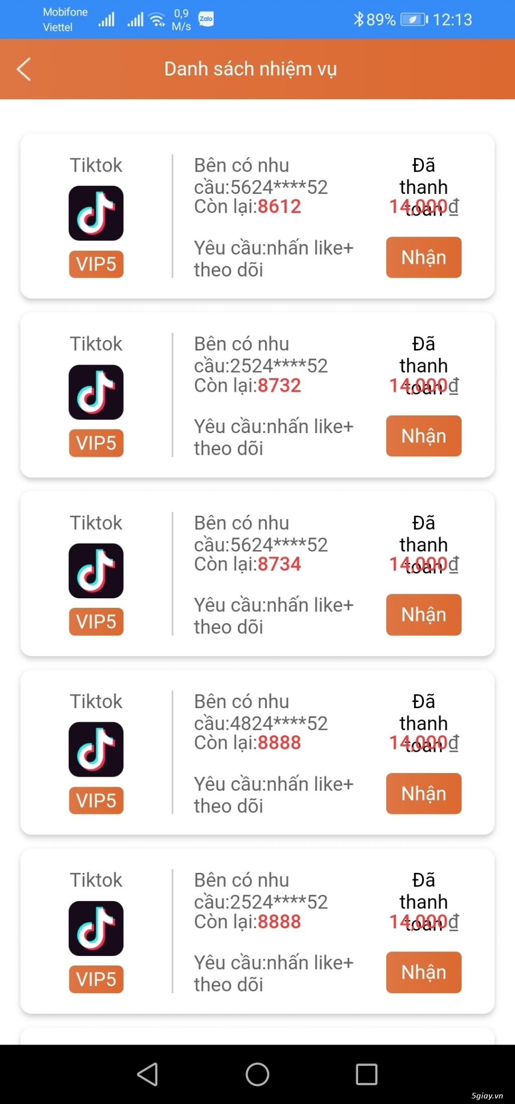 Kiếm Tiền Online Tại Nhà Xem Qc Tiktok 1h 300K - 3