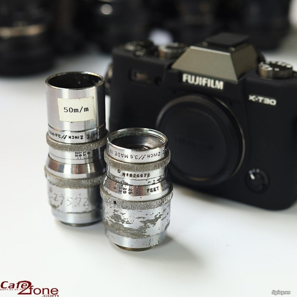 Lens MF ⭕ Bell&Howel 2inch F/3.5 Made in U.S.A ⭕ ngàm C (Ống kính CCTV - 3