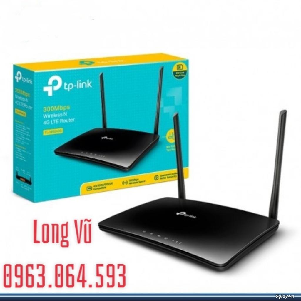 Router TP-Link TL-MR6400 không dây chuẩn N tốc độ 300Mbps 4G LTE - 1