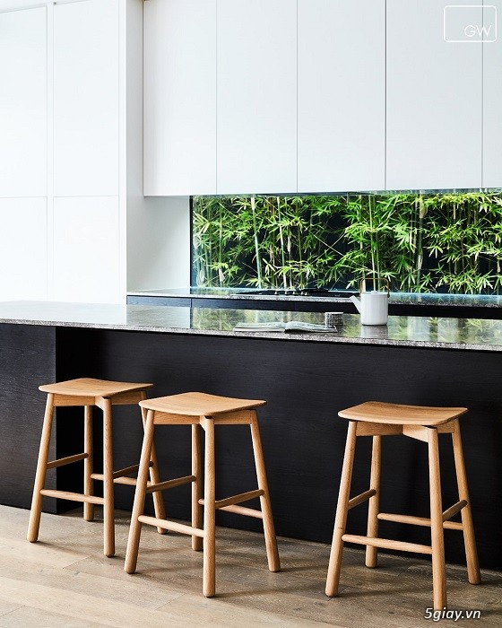 Ghế bar gỗ Root 65cm