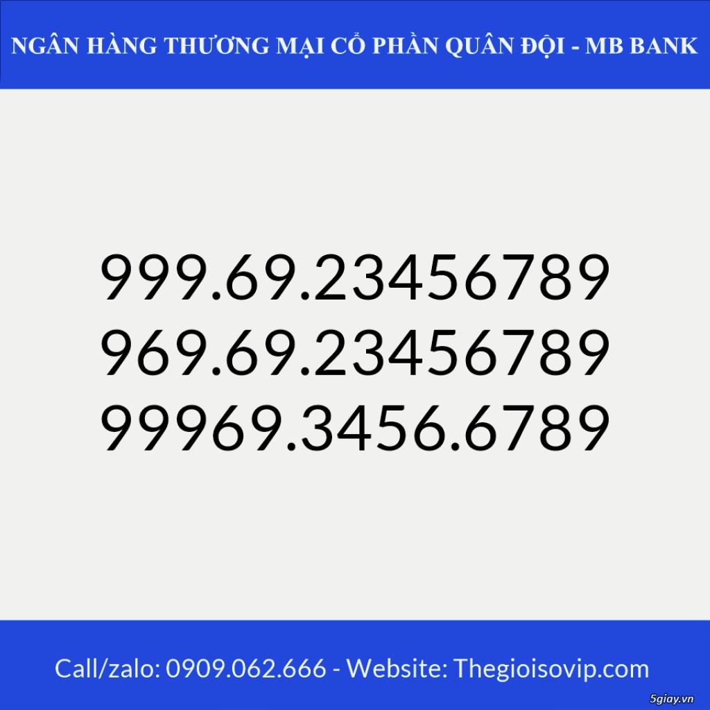Tài khoản ngân hàng số đẹp vip mbbank ngân hàng quân đội - 7