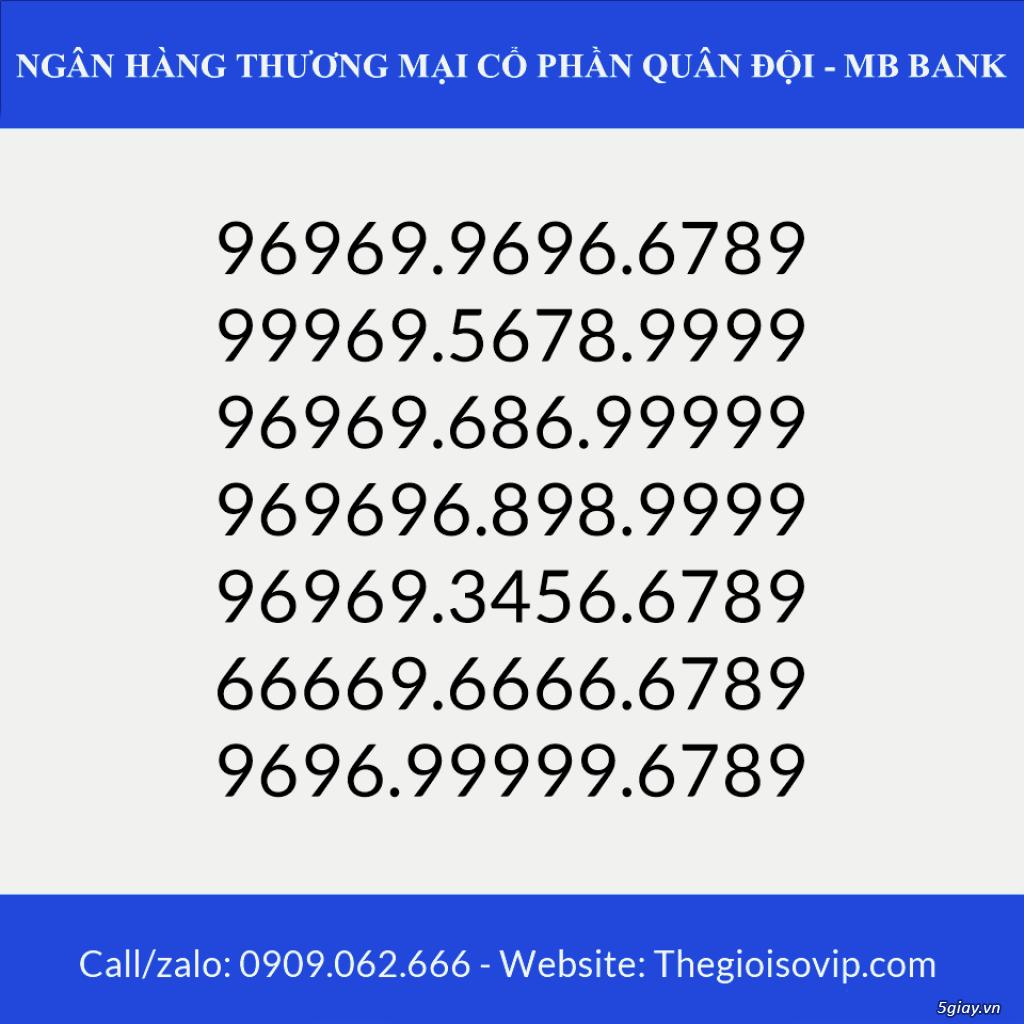 Tài khoản ngân hàng số đẹp vip mbbank ngân hàng quân đội - 3