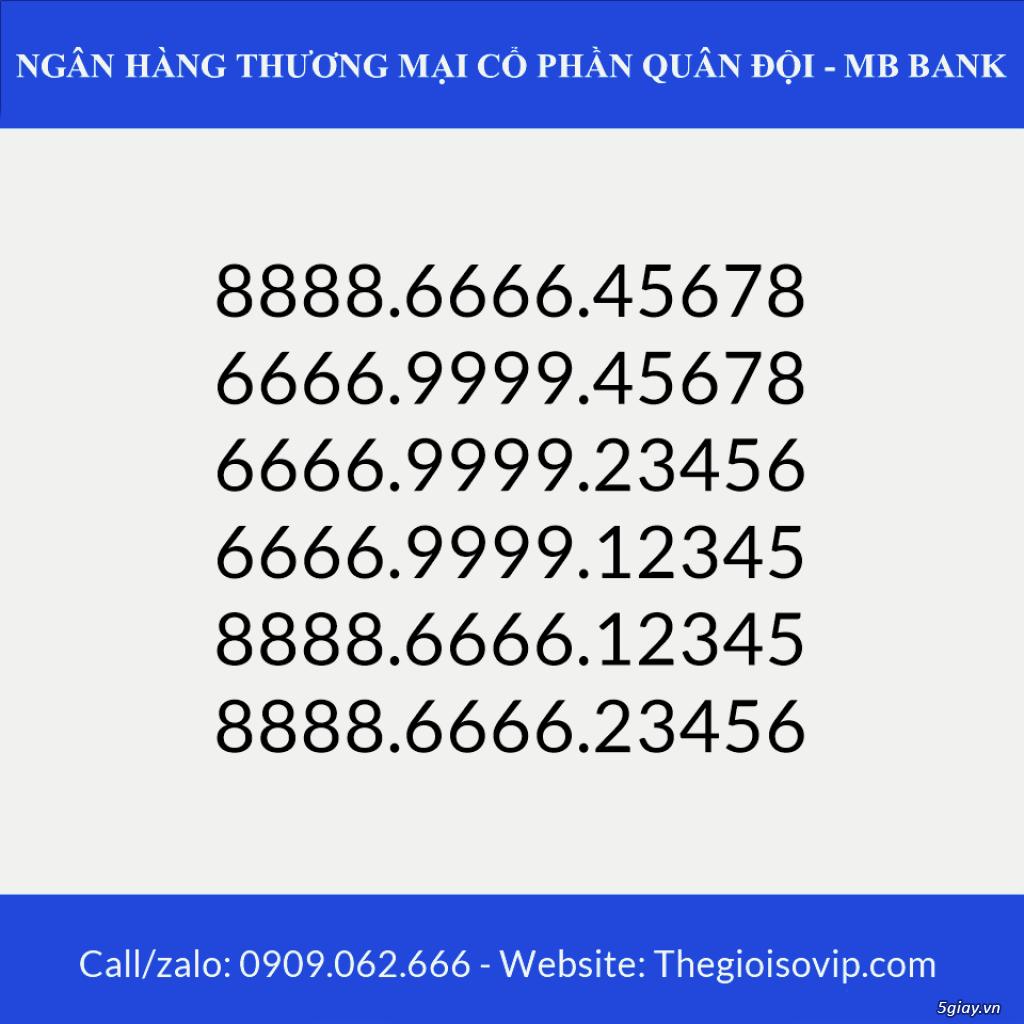 Tài khoản ngân hàng số đẹp vip mbbank ngân hàng quân đội - 4