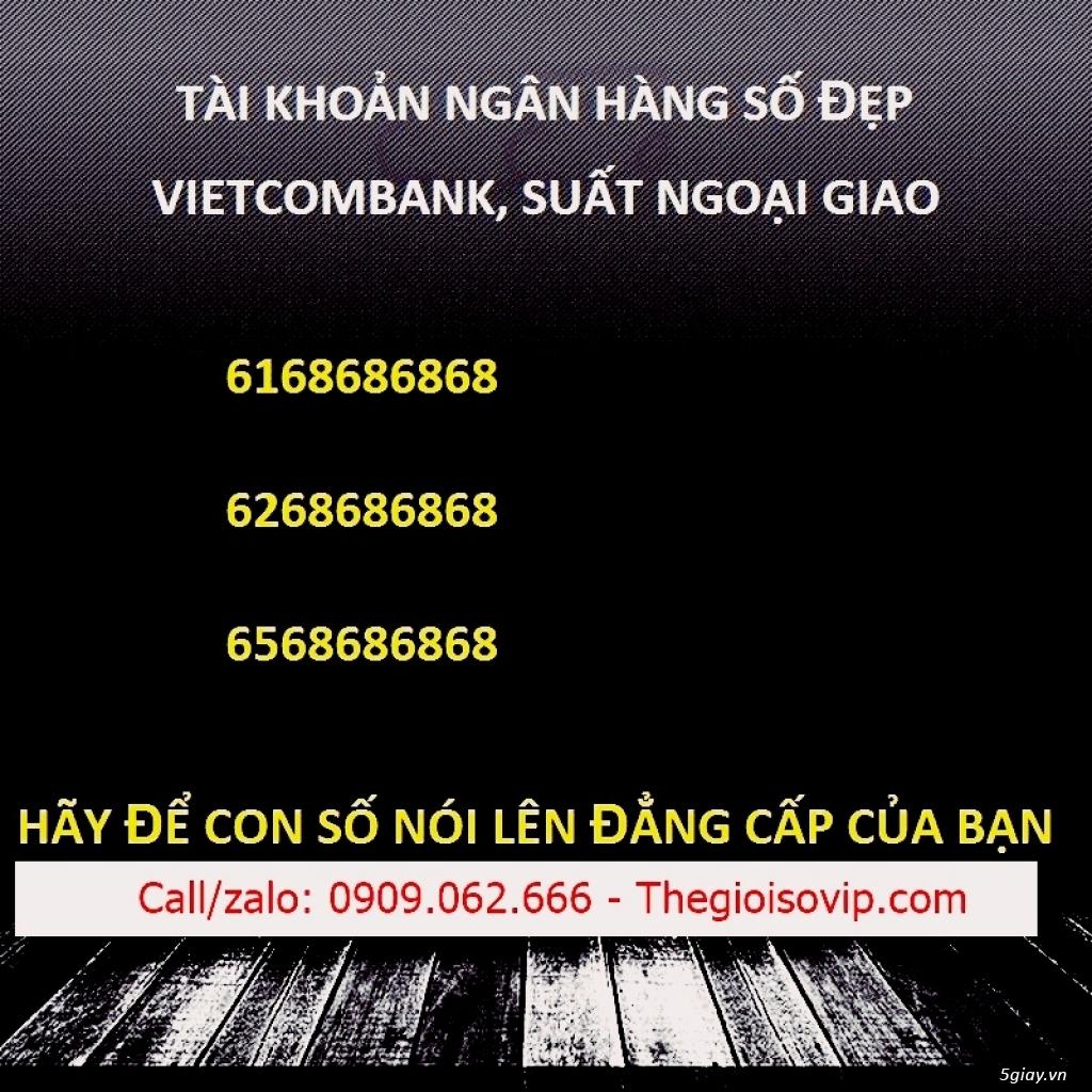Nhận mở tài khoản ngân hàng số đẹp vip vietcombank - 19