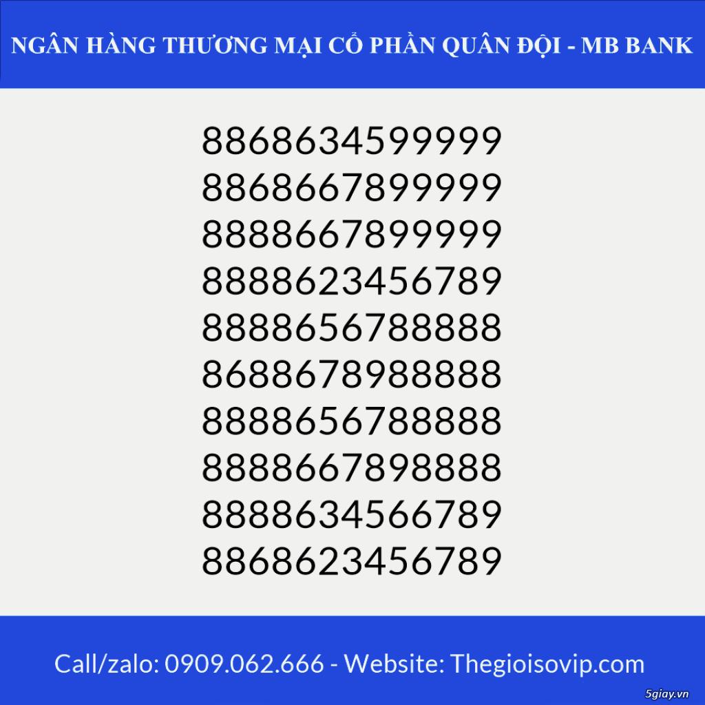 Tài khoản ngân hàng số đẹp vip mbbank ngân hàng quân đội - 1