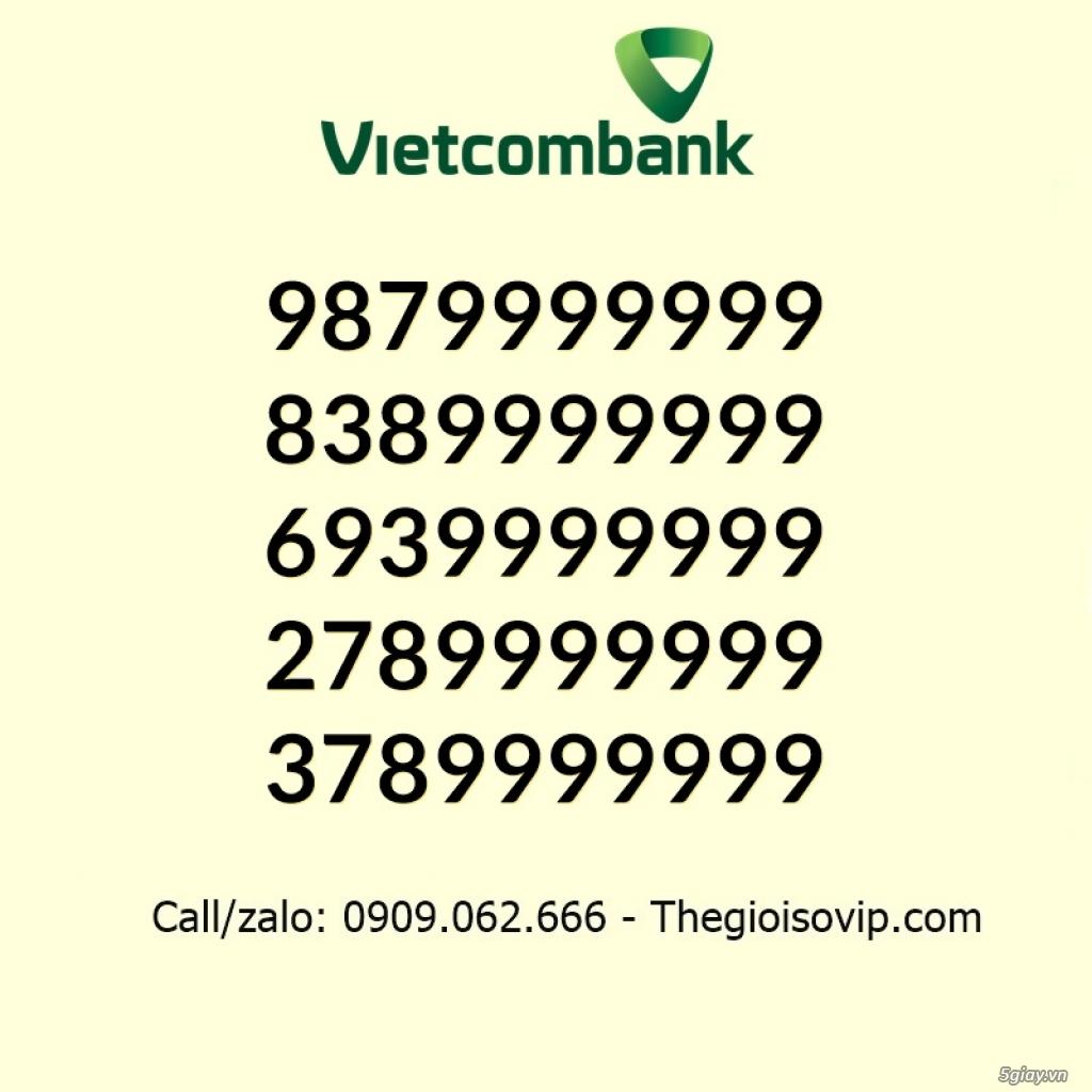 Nhận mở tài khoản ngân hàng số đẹp vip vietcombank - 3