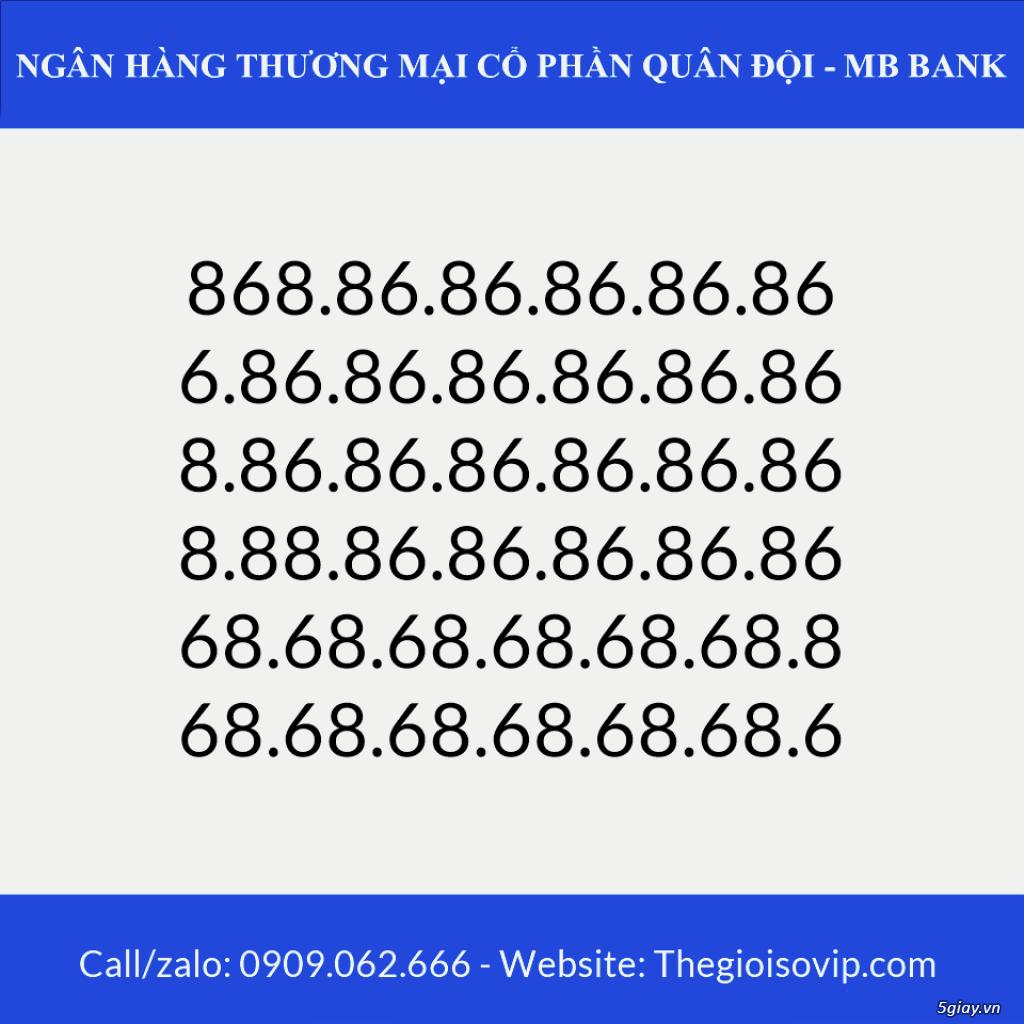 Tài khoản ngân hàng số đẹp vip mbbank ngân hàng quân đội - 11