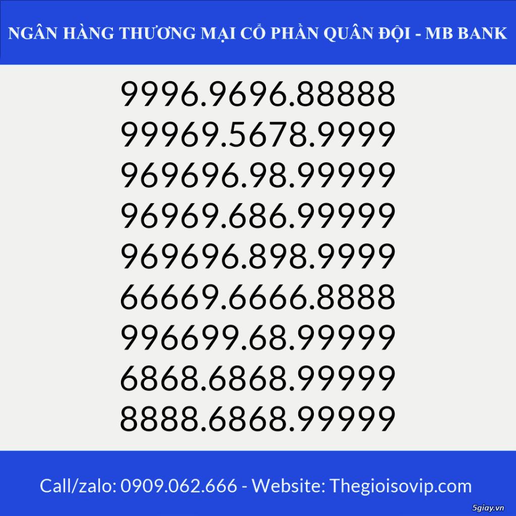 Tài khoản ngân hàng số đẹp vip mbbank ngân hàng quân đội - 5