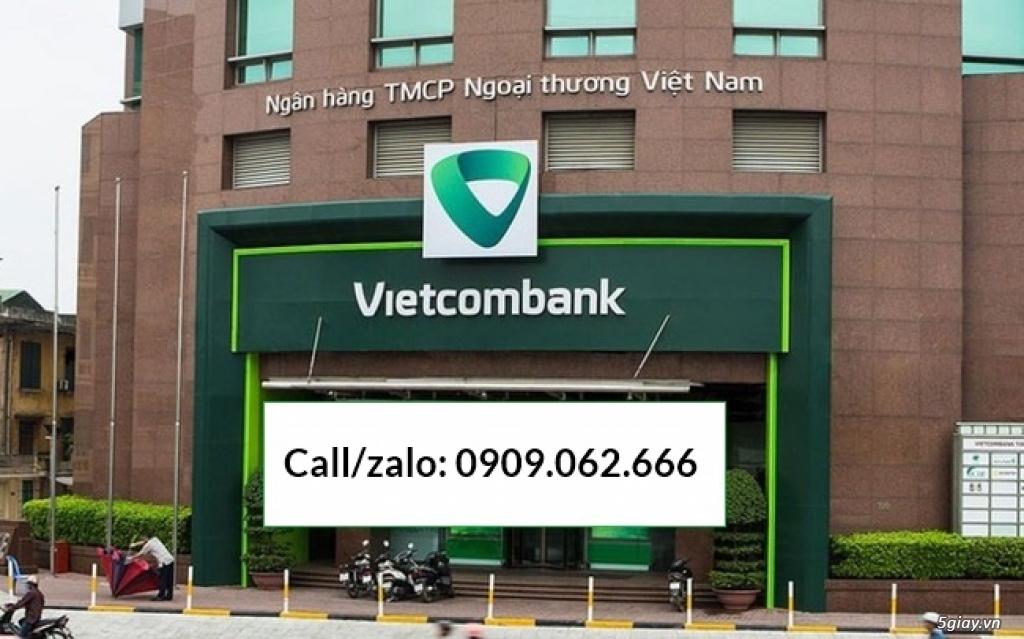 Nhận mở tài khoản ngân hàng số đẹp vip vietcombank