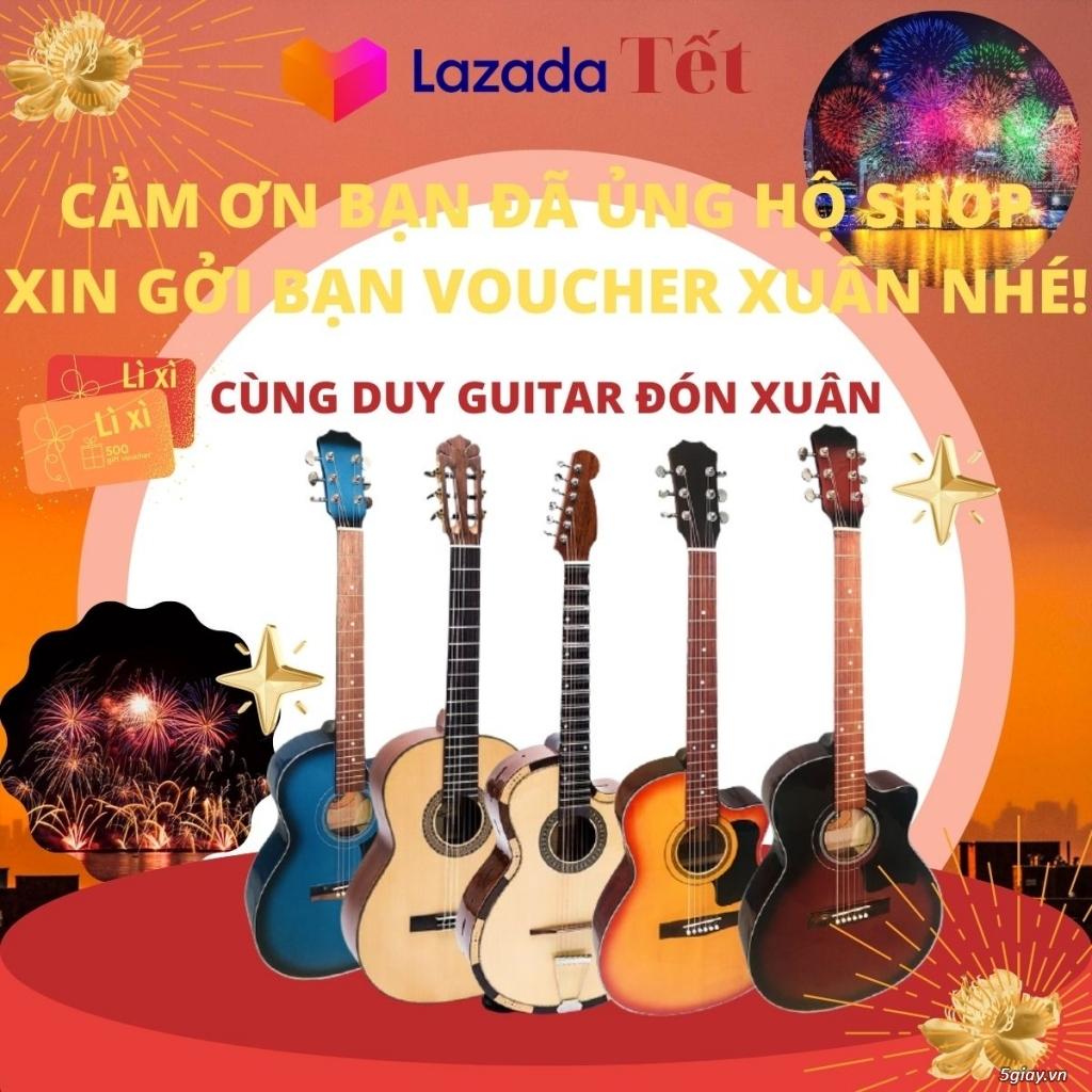 Tết đến Duy Guitar Store sale hết! Guita và phụ kiện 8K