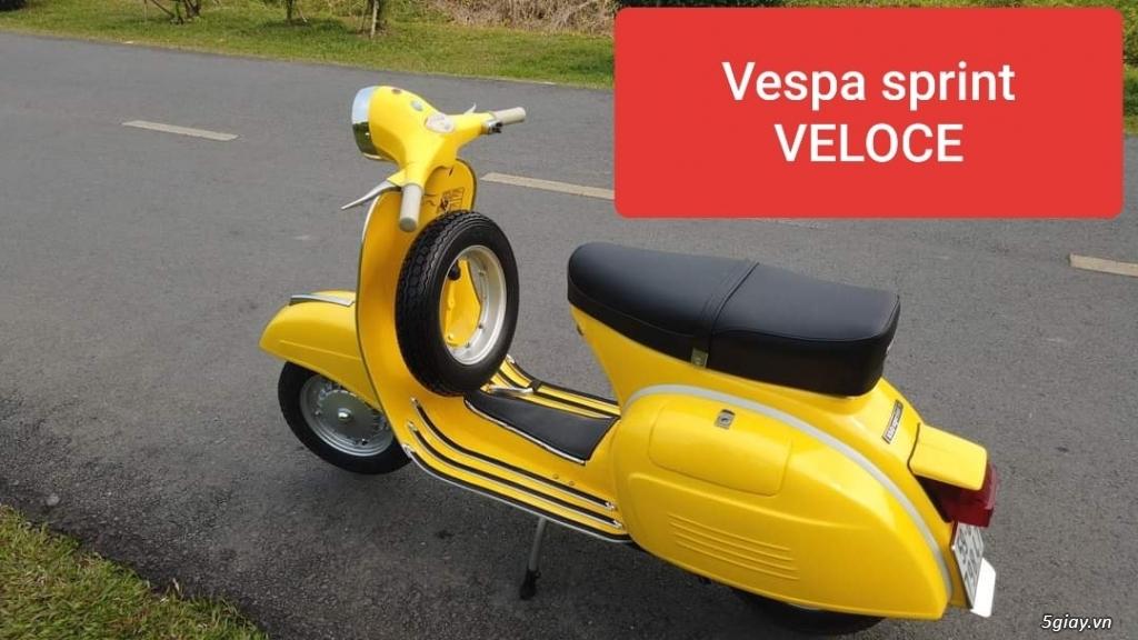 Vespa Veloce hàng hiếm