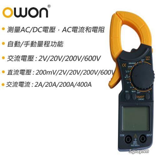 Xả hàng thu hồi vốn : Đồng hồ kẹp + máy hiện sóng OWON giảm 50% - 3