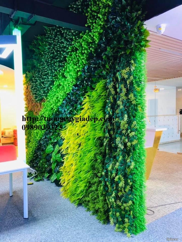 Trang trí cửa hàng bằng cây giả cực đẹp - 11
