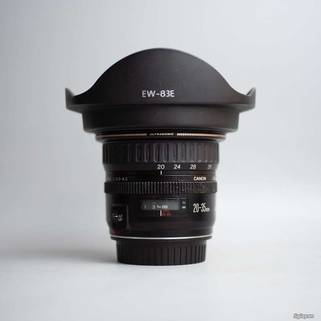 Promaster 28-105mm Sigma 20mm f1.8 canon 20-35mm Zeiss 18mm f3.5 tamro - 1