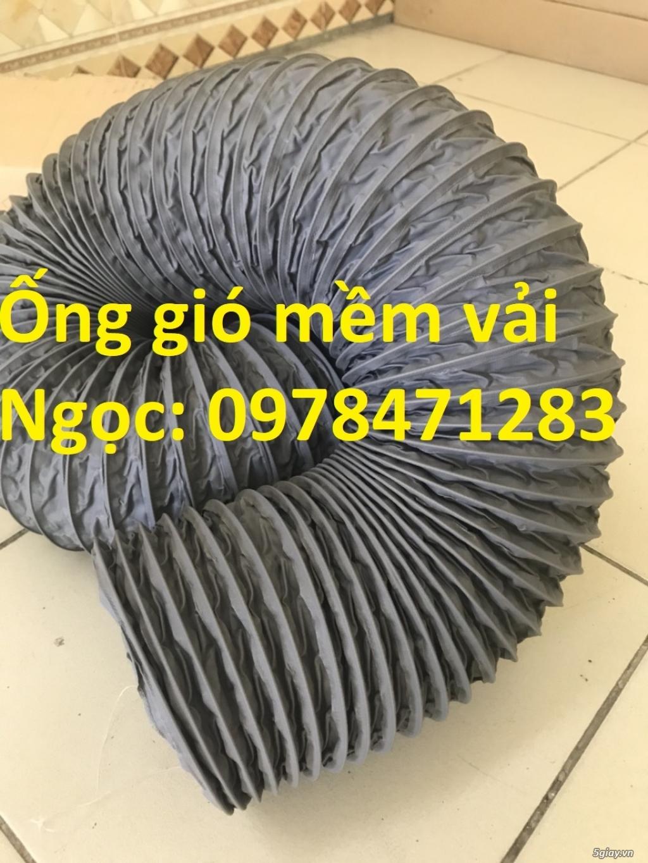 Bán ống gió mềm vải, ống vải phi 300, phi 400, phi 500 thông gió - 7
