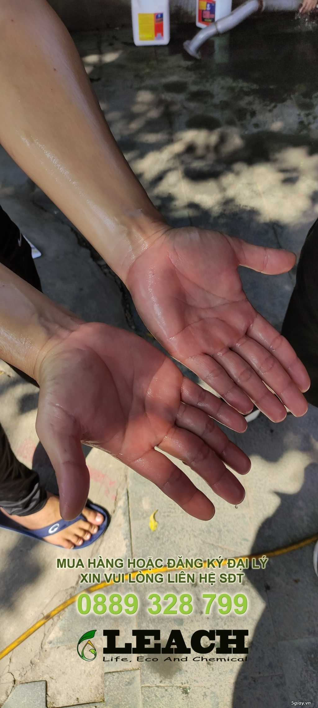 Kem rửa tay tẩy dầu nhớt Q-Hand Pro - 2