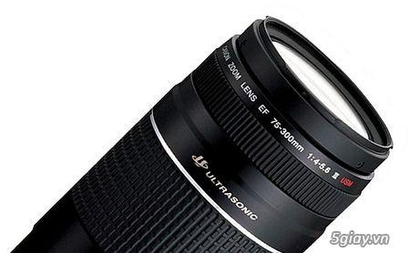 Cần bán Canon 75-300 III USM mới 100% chưa sử dụng